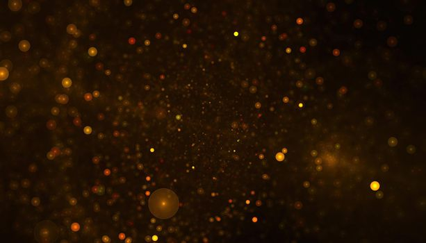 abstract particles or glitter background
