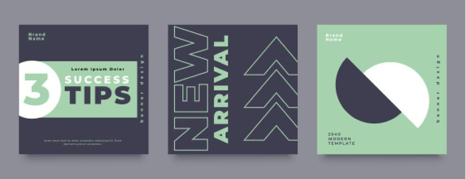 company social media post design template