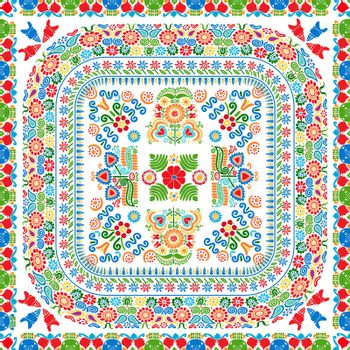 Hungarian embroidery pattern 111