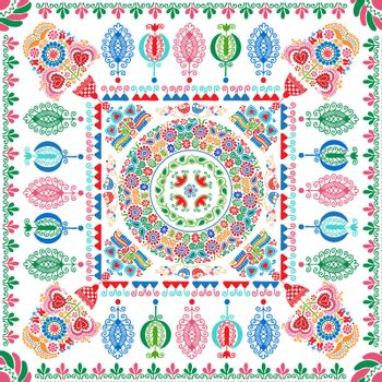 Hungarian embroidery pattern 101