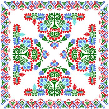 Hungarian embroidery pattern 118