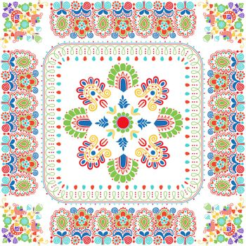Hungarian embroidery pattern 131