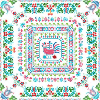 Hungarian embroidery pattern 143