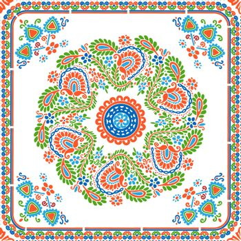 Hungarian embroidery pattern 121