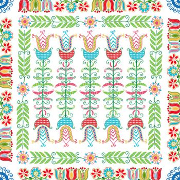 Hungarian embroidery pattern 145