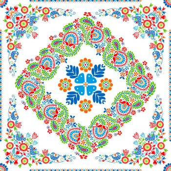 Hungarian embroidery pattern 112