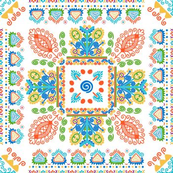 Hungarian embroidery pattern 124