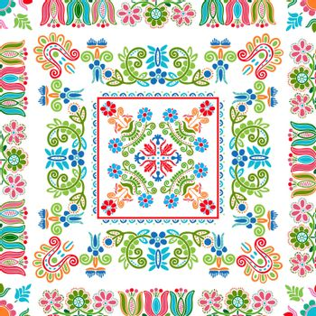 Hungarian embroidery pattern 135