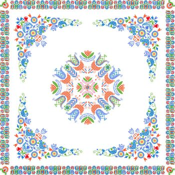 Hungarian embroidery pattern 114