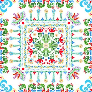 Hungarian embroidery pattern 93