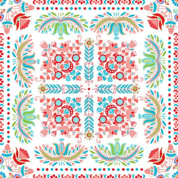 Hungarian embroidery pattern 138