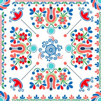 Hungarian embroidery pattern 105