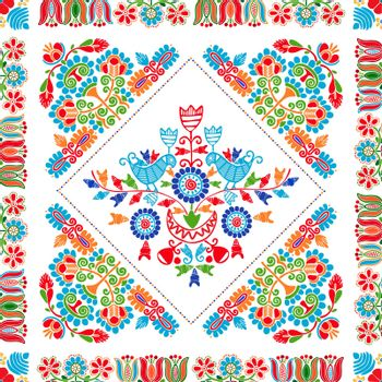 Hungarian embroidery pattern 110