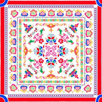 Hungarian embroidery pattern 87