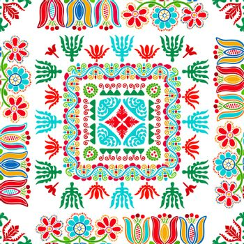 Hungarian embroidery pattern 95