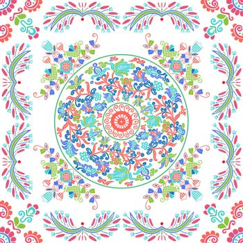 Hungarian embroidery pattern 126