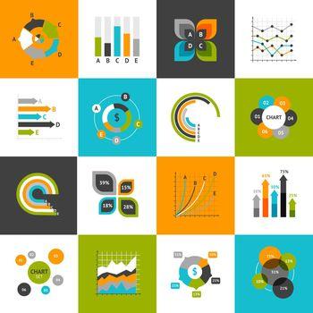Business Charts Set