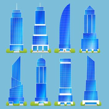 Office Buildings Set