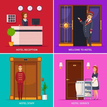 Hotel Staff 2x2 Design Concept