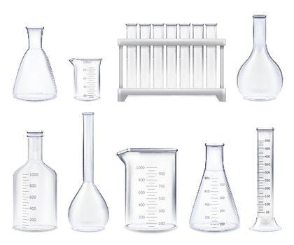 Realistic Test-tubes Set