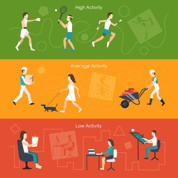 Physical Activity Banners