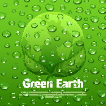 Water Drops Eco Poster