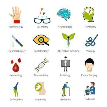 Medical Specialties Set