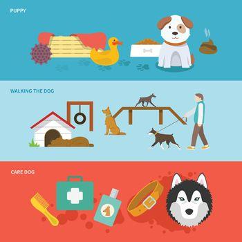 Dog Banner Set