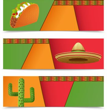 Mexican Banners Horizontal