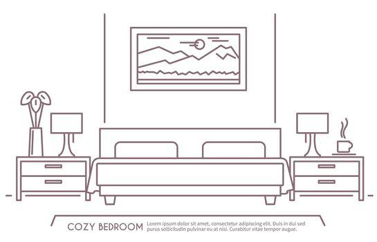 Bedroom Furniture Outline