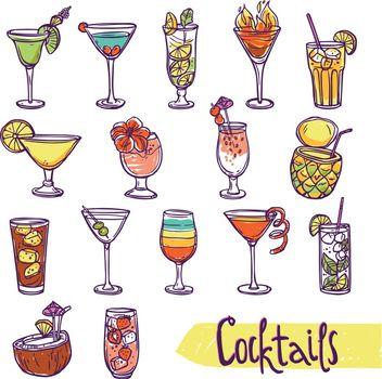 Cocktail Sketch Set