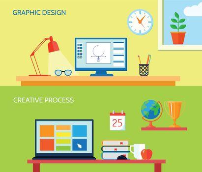 Workspace Banner Set