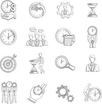 Time Management Sketch