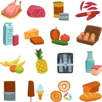 Supermarket Food Set