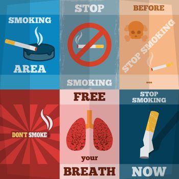 Smoking Mini Poster Set