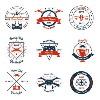 Drone Color Emblems