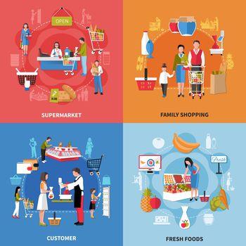 Supermarket People Design Concept