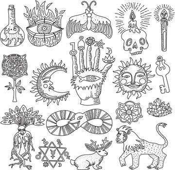Magic Tattoo Set