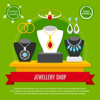 Jewelry Shop Composition