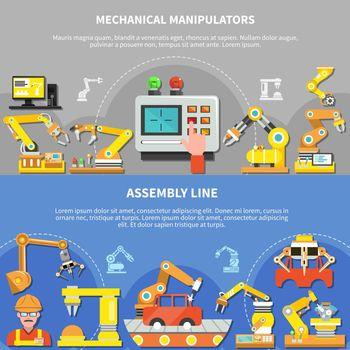 Two Robotic Arm Composition Set