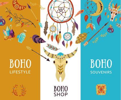 Boho Shop Banners