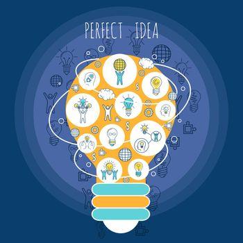 Perfect idea poster