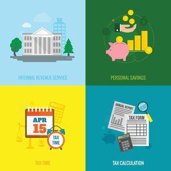 Tax flat set