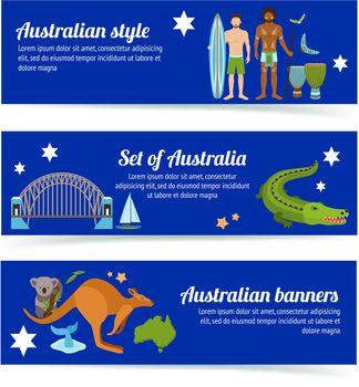 Australia Banner Set