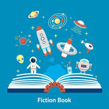 Fiction Book Illustration