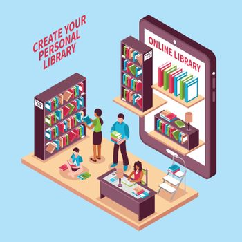 Online Library Isometric Concept