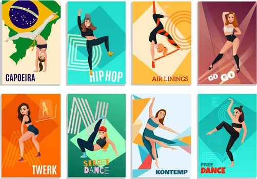 Modern Dances Cards