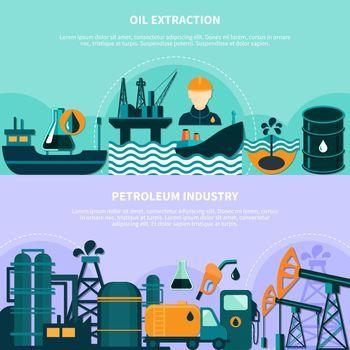 Offshore Petroleum Production Banners