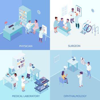 Health Care Center 2x2 Design Concept