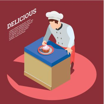 Delicious Food Maker Background